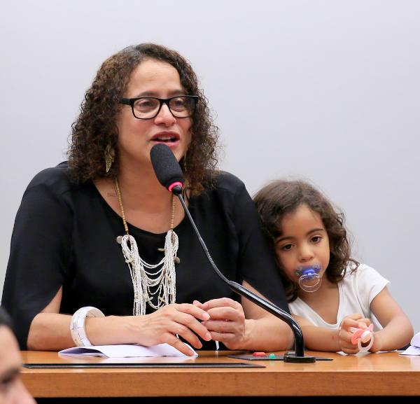 Luciana Santos e a filha Luana/Divulgação