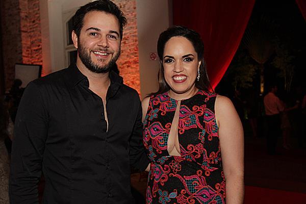 Herácliton Diniz e Rapha Torres - Crédito: Roberto Ramos/DP