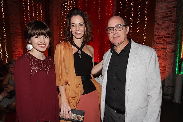 Sofia Branco, Paola Muniz e Max Branco - Crédito: Roberto Ramos/DP