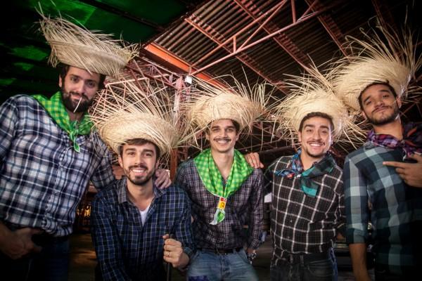 Jorge Peixoto, Rafael Lobo, Victor Carvalheira, Thiago e Walmir Wanderley - Crédito: Divulgação