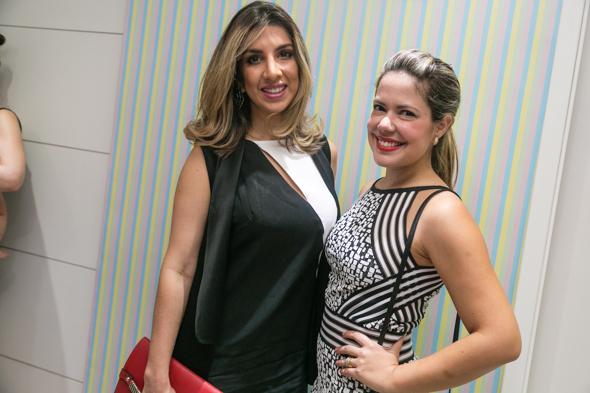 Gabriela Percinio e Camila Caminha. Crédito: Tatiana Sotero / DP