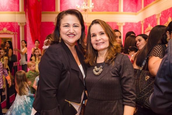 Keila Benício e Brigitte Perylo. Crédito: Gatomia Fotografia