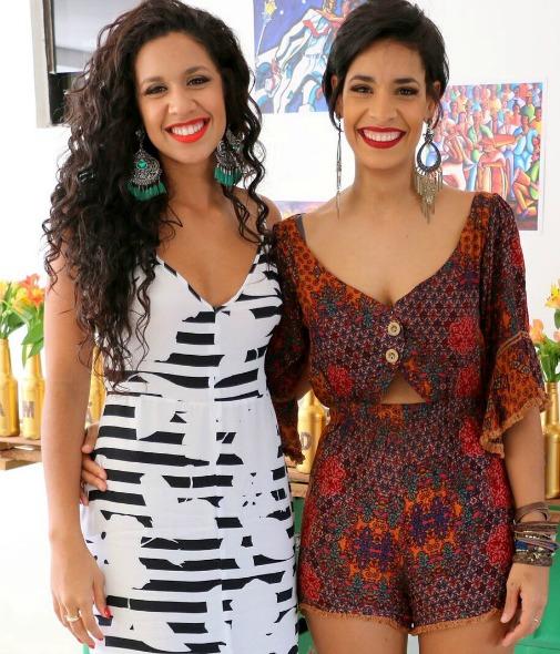 As irmãs Thaís e Bárbara Barreto estão à frente do Beauty Bar Recife. Crédito: Arquivo pessoal