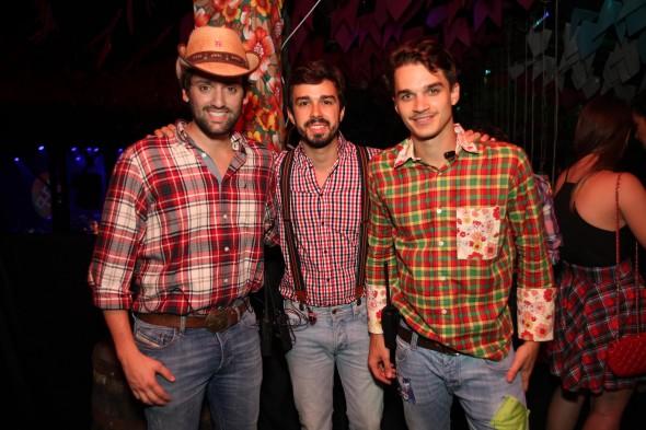 Jorge Peixoto, Rafael Lobo e Victor Carvalheira. Crédito: Vinícius Ramos/4Comunicação