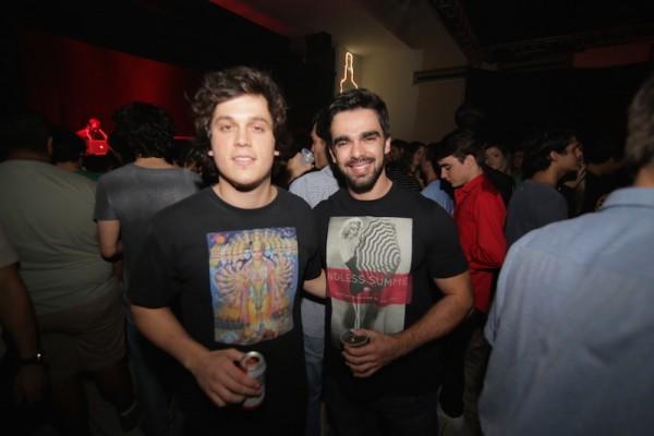 Carlos Henrique e Jaime Vasconcelos - Crédito: Celo Silva/Divulgação