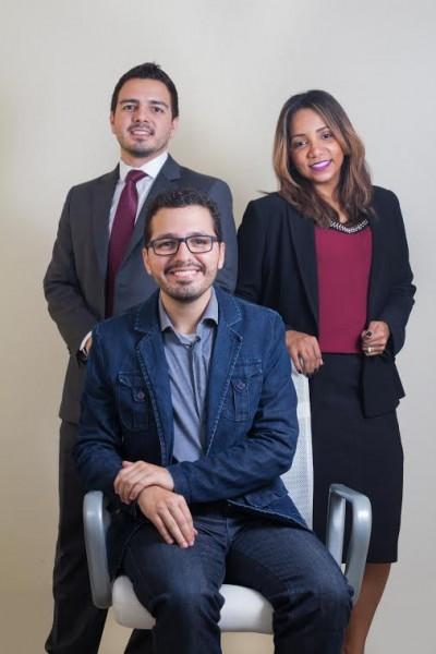 Daniel Miesquita, Milena Santos e Gabriel Dias da Coach Delta - Crédito: Divulgação