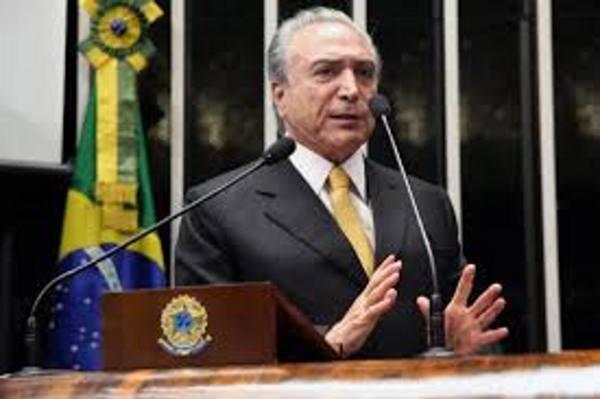 Michel Temer/Sg. Brasil