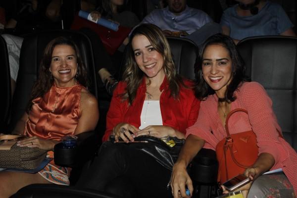 Danielle Paes Barreto, Bruna Lobo e Soraya Carneiro - Crédito: Michelle Sanzere/Divulgação