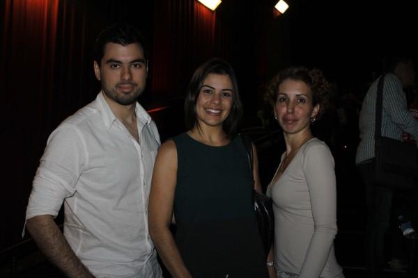 Luis Dubeux, Juliana da Mata e Luciana Aguiar - Crédito: Michelle Sanzere/Divulgação
