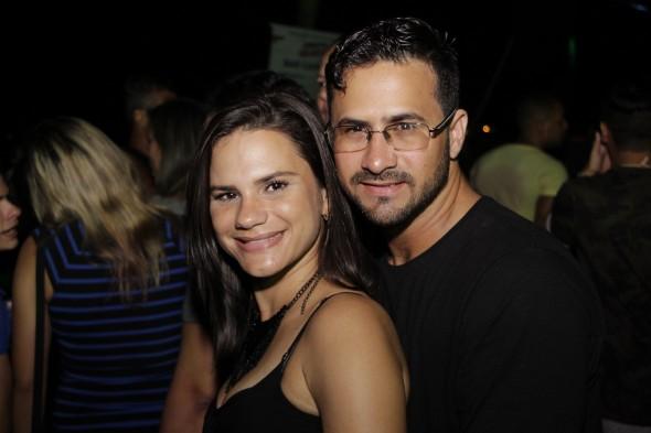 Bruna Araujo e Rodrigo Vasconcelos .Crédito: Felipe Souto Maior
