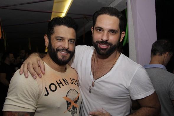 Marcos Silva e Lucas Amaral. Crédito: Gil Alves
