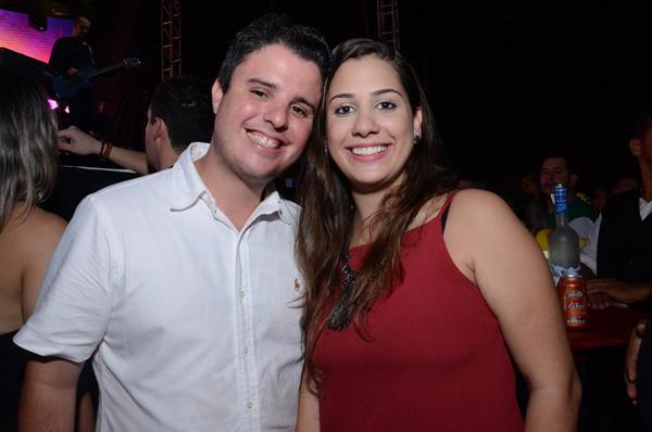 Fred Serrano e Maria Luiza Castro - Crédito: Roberta Pontual/Divulgação