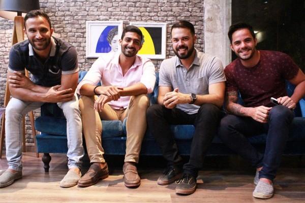 Thiago Vieira, Marcel Wanderley Filho, Diogo Viana e Rafa Mesquita - Crédito: Divulgação