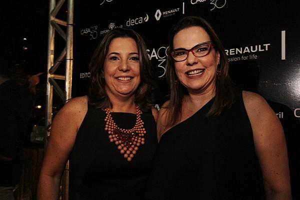 Carla Cavalcanti e Isabela Coutinho - Crédito: Roberto Ramos/DP