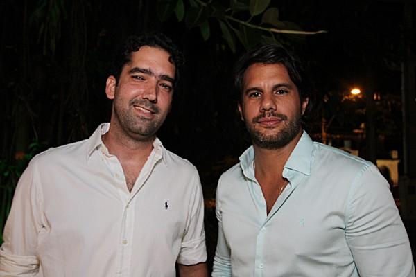 Leonardo Allouchie e Thiago Monteiro - Crédito: Roberto Ramos/DP