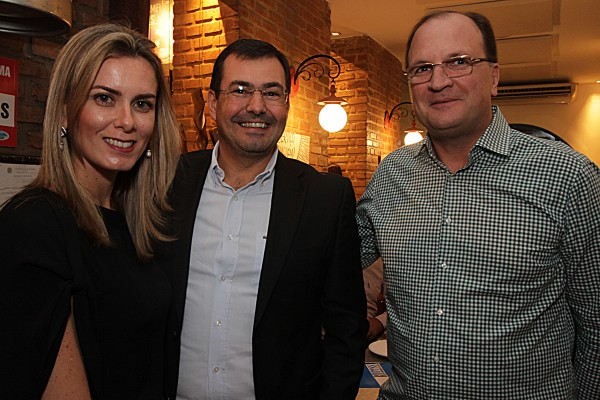 Manuela Fernandes, Dilamar Dallagnol e Licinio Dias- Crédito: Roberto Ramos/DP