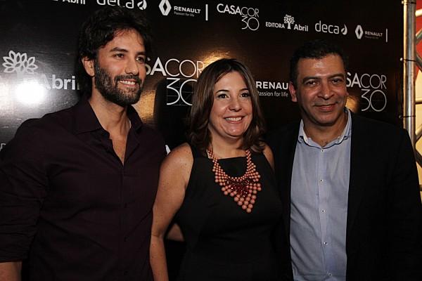 Andre Caricio, Carla Cavalcanti e Pedro Ariel - Crédito: Roberto Ramos/DP