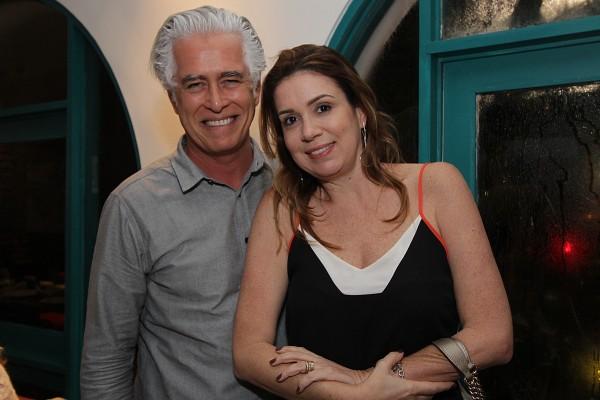 Romero Duarte e Patricia - Crédito: Roberto Ramos/DP