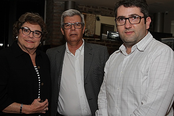 Cecília Freitas, Dayvison Rodrigues e Rômulo Soares. Crédito: Roberto Ramos / DP