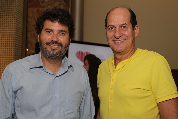 Daniel Queiroz e Queiroz Filho. Crédito: Roberto Ramos / DP