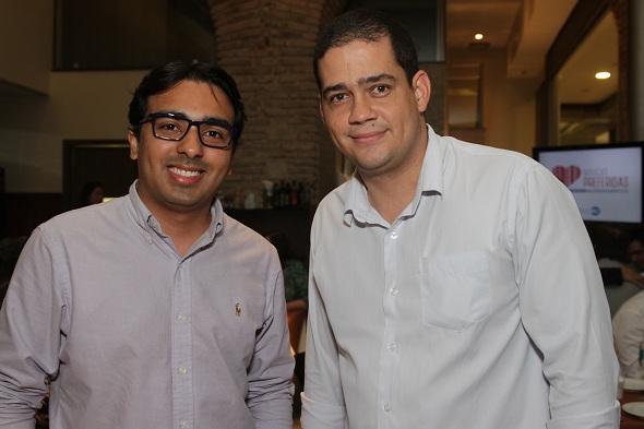 Ronaldo Amorim e Jair de Souza. Crédito: Roberto Ramos / DP