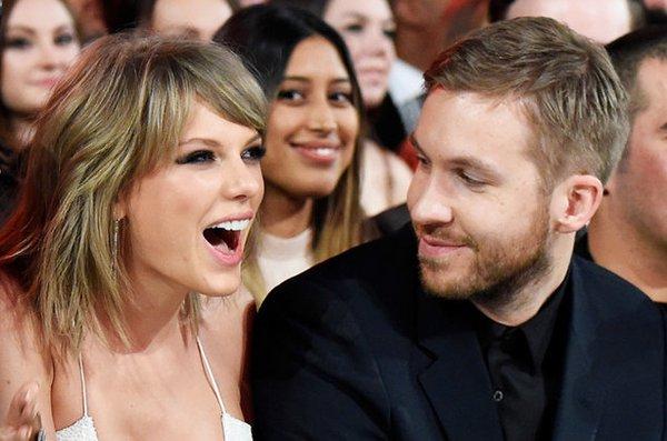 Taylor Swift e Calvin Harris - Crédito: Reprodução/Twitter