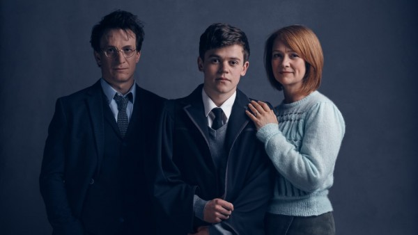 Harry, Alvo e Gina - Crédito: Reprodução/Pottermore