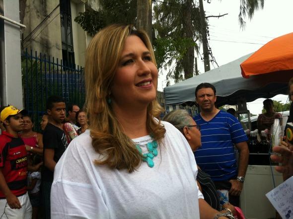 Isabel Urquiza. Crédito: Joana Perrusi/DP/D.A Press