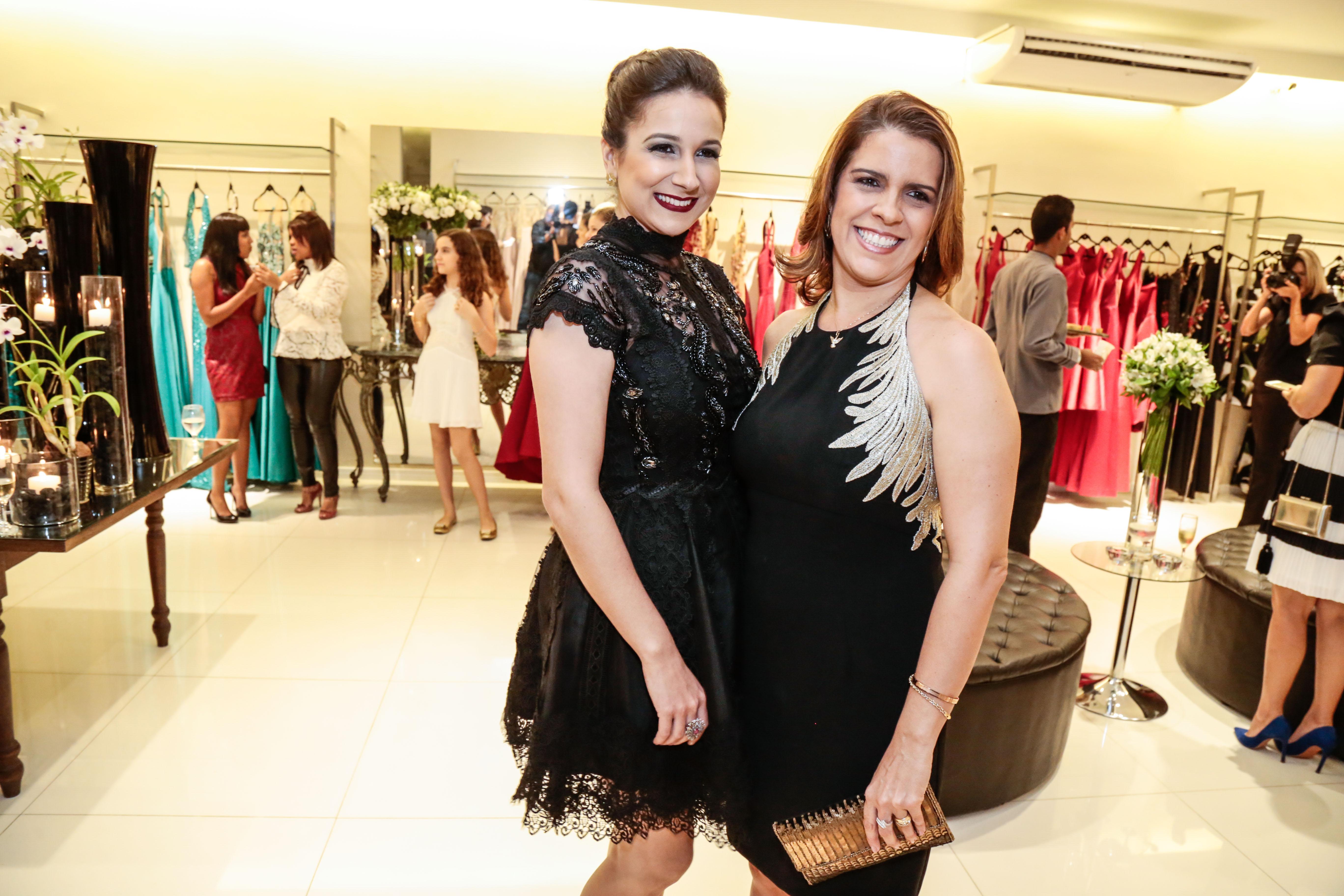 Meyriane Diniz e Cristina Melo - Crédito: Gleyson Ramos/Divulgação