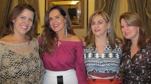 Cristina Melo, Patrícia Rands, Glaucia Machado e Ana Luiza Câmara