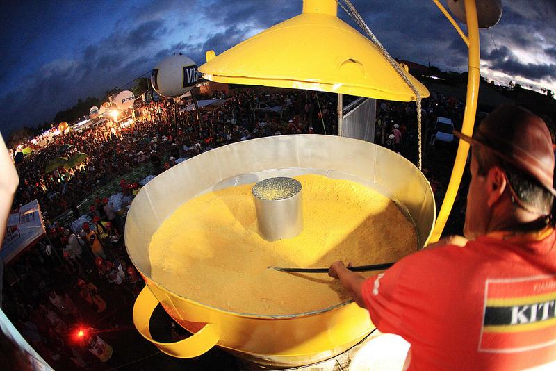 Maior cuscuz do mundo - Crédito: Rafael Lima/flickr/Reprodução da Internet