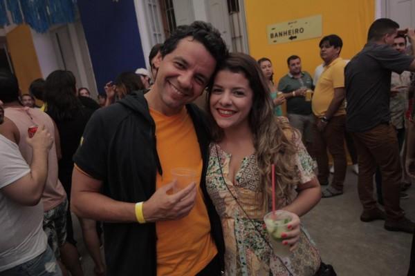 Beto Café e Deborah Barros - Crédito: Celo Silva/Divulgação