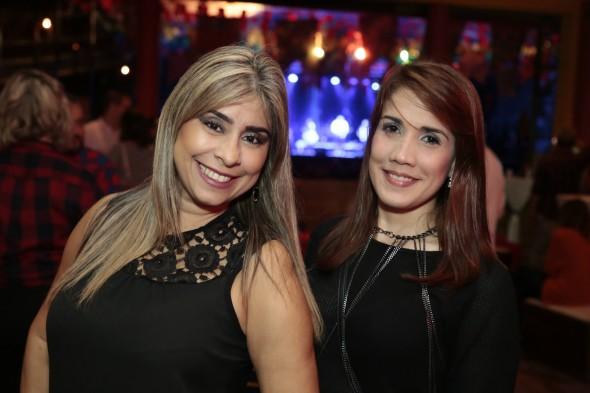 Cristiane Melo e Bruna Campelo
