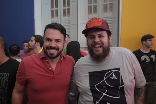 Diogo Viana e Lucas Logiovine - Crédito: Celo Silva/Divulgação