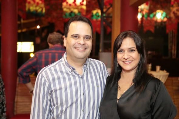 Ivo Amaral e Celinha Stamford