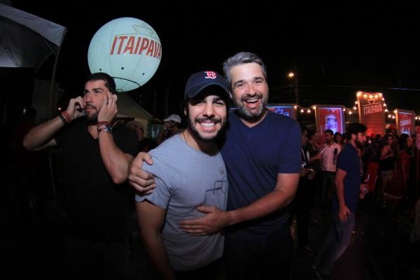 José Pinteiro e Bruno V - Crédito: Luiz Fabiano/Divulgação