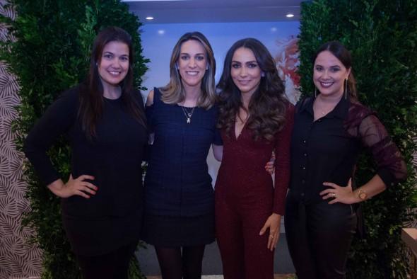 Patrícia Fortes, Camila Piccini, Lalá Noleto e Nina Lacerda. Crédito: Vito Sormany