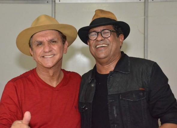 Petrúcio Amorim e Maciel Melo. Crédito: Divulgação do evento