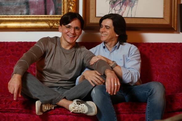 Turibio e Zezinho Santos - Crédito: Rafael Martins/ Esp. DP