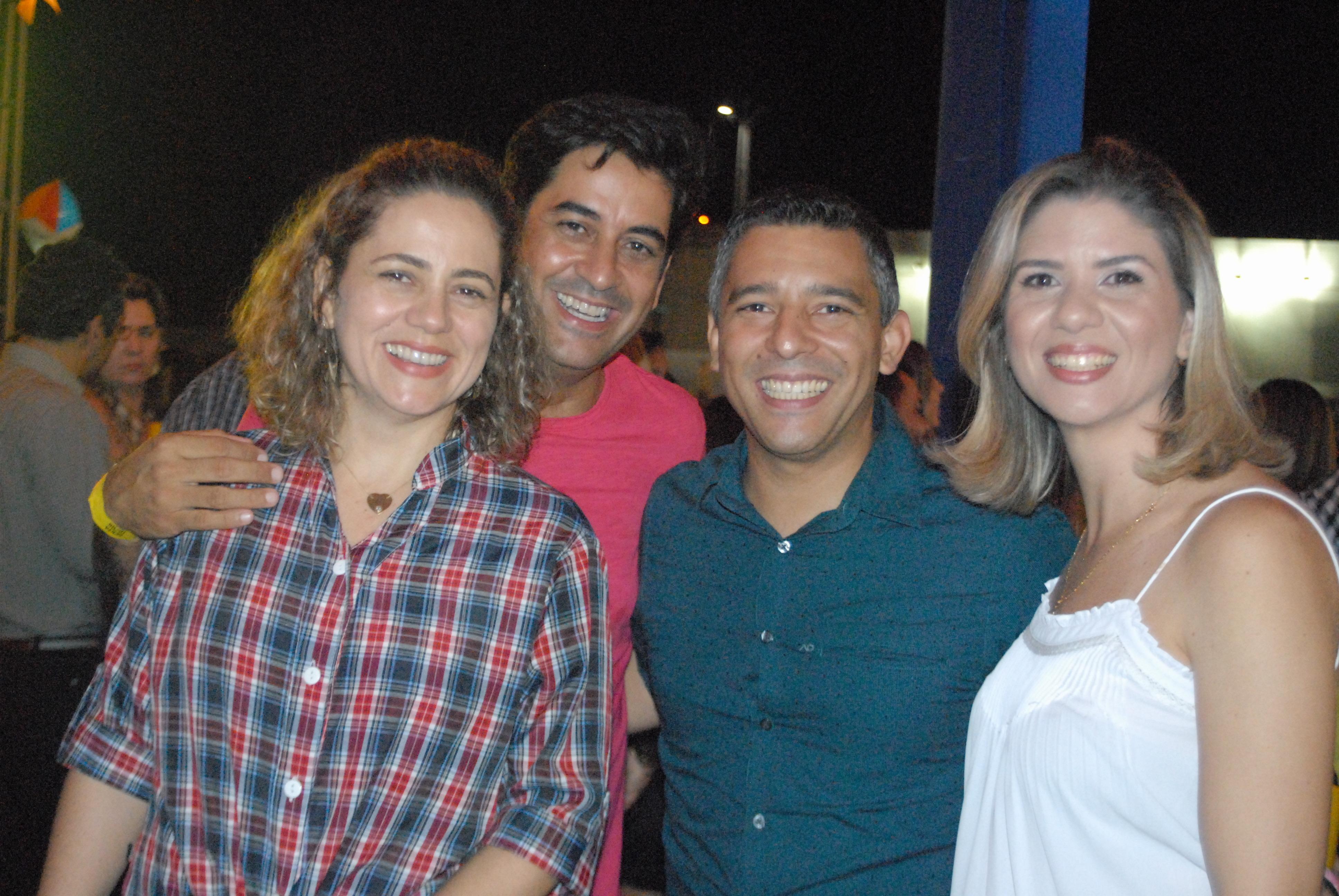 Casais George Guilherme e Rodrigo Raposo