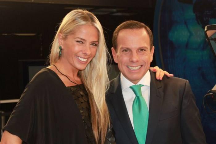 Adriane Galisteu e João Dória/Divulgação
