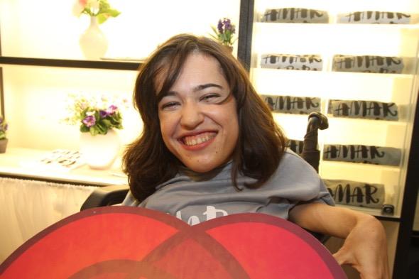 Jéssica Pacheco de Almeida é uma das que conta com o apoio da ONG. Crédito: Nando Chiappetta / DP