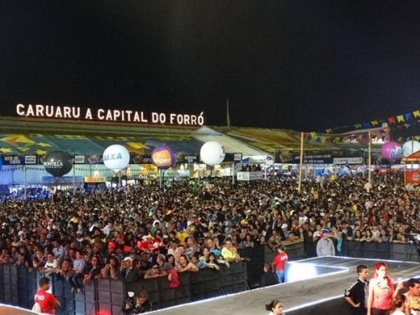 Imagem ilustrativa Pátio do Forró de Caruaru - Crédito: Divulgação