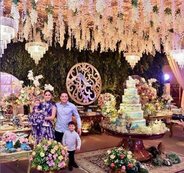 Uma das convidadas foi responsável pelo cerimonial da festa da filha de Wesley Safadão - Crédito: Reprodução/Instagram