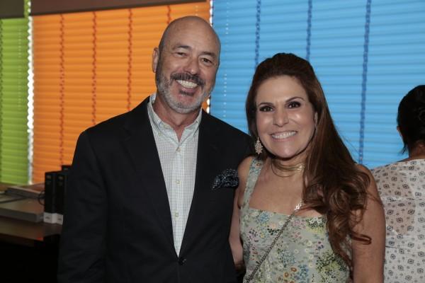Sandro e Beth Curra - Crédito: Gleyson Ramos/Divulgação