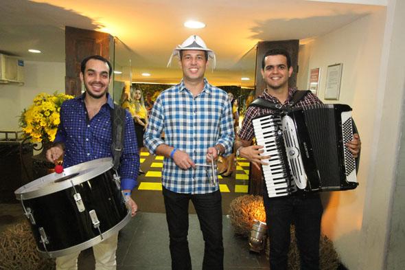 Trio De Mala e Cuia. Credito: Nando Chiappetta/DP -BLOG JA