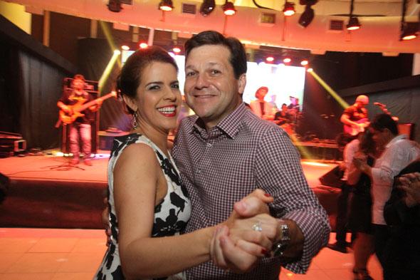 Geraldo Júlio e Cristina Melo. Credito: Nando Chiappetta/DP -BLOG JA