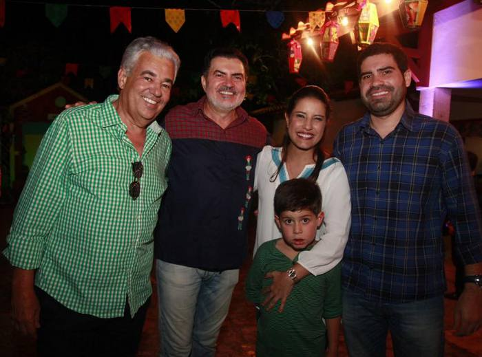 Antônio Moras, Tony Gel, Raquel e Fernando Lucena
