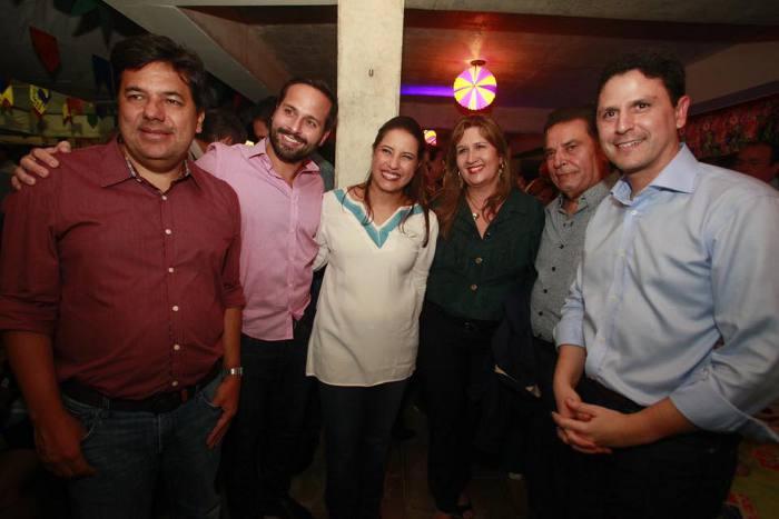 Mendonça Filho, Marcelo Calero, Raquel Lyra, João,Lyra e Bruno Araújo