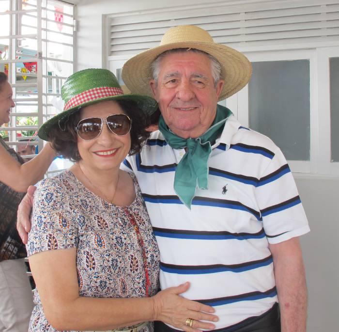 Carmem e Alberto Ferreira da Costa